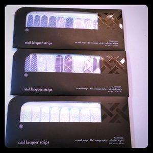 NIB 3 sets nail lacquer strips Jamberry  /BeneYou